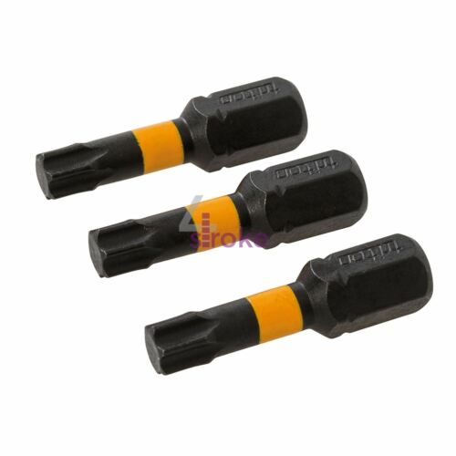 Torx Screwdriver Impact Bit T27 High Torque Premium S2 Steel Drills Drivers 3pcs