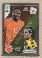 Didier Drogba 5 2014 Panini Prizm World Cup Matchups vs Radamel Falcao