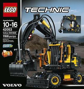 lego technic volvo ew160e 42053 new 673419248761 ebay. Black Bedroom Furniture Sets. Home Design Ideas