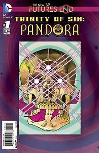TRINITY OF SIN PANDORA FUTURES END #1 3D MOTION COVER NEW 52 PRE-SALE 17/09/14