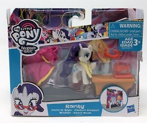 My Little Pony Friendship is Magic Rarity Loves to Style Figure Doll