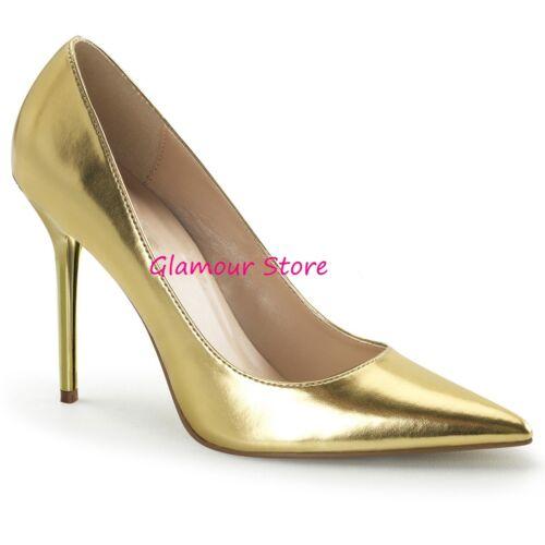 A Decolte' Scarpe Tacco Fashion Punta Glamour Al Oro 35 Dal Sexy 10 46 SEqwBcd