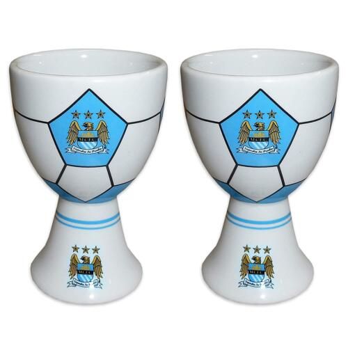 2 X Man City coquetiers-Officiel Manchester City coquetiers-Football Cadeau