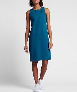 Image is loading NIKE-SPORTSWEAR-TECH-FLEECE-Wmns-Dress-Blue-Size-