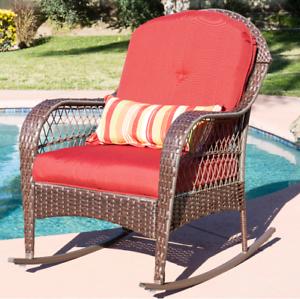Outdoor Wicker Rocking Chair Rattan