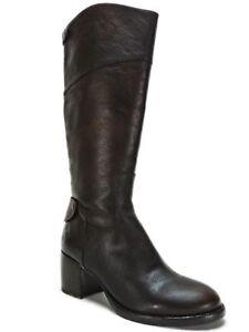 950829b0ea6 Patricia Nash Women's Loretta Tall Boots Brown 7.5 Wide Calf ...