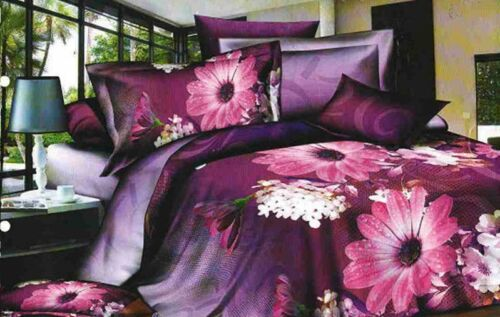 SATIN KING  DOUBLE SINGLE SIZE 3 PCS BEDDING SETS  HIGH QUALITY  SILKY EFFECT