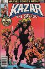 Kazar The Savage 1981 Marvel Comic #1-27/29-30 w/Dupes VG 113015DBE