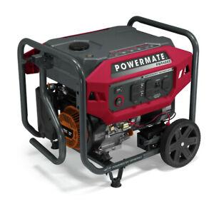 Powermate P0081500 PM9400E 9400/7500 Watt 420cc Portable Gas Generator New