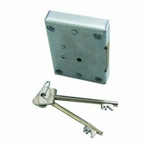 Lowe and Fletcher 2802 7 Lever Dead Bolt Safe Gun Cabinet Strong Box Lock