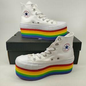 Converse x Miley Cyrus Pride Rainbow