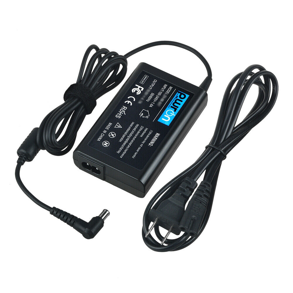 PwrON AC DC Adapter Charger for Sony Vaio SVE15112FXS SVE15114FXS Power Cord PSU