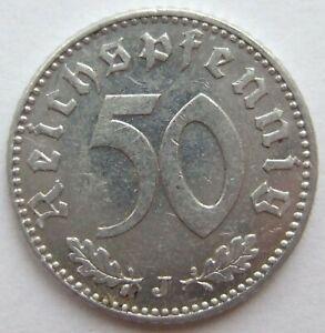 TOP-50-REICHSPFENNIG-1941-J-in-VORZUGLICH-SELTEN