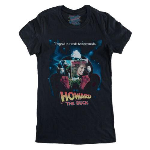 80 movie Tim Robbins George Lucas HOWARD THE DUCK Woman T-shirt Lea Thompson