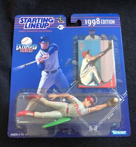 Kenner Starting Lineup 1998 MLB Extended Series Scott Rolen Phillies New