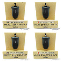 Rcs I Shape Cork Knob - Black X 4pcs