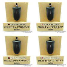 DAIWA/SLP WORKS  RCS I Shape Cork Knob - BLACK x 4pcs