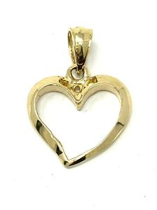 14k-Yellow-Gold-High-Polished-Open-Heart-Classic-Charm-Pendant-1-4g