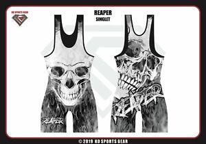 Wrestling Singlet par KO Sports Gear: Reaper