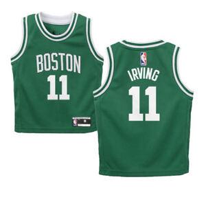 hot sales 6bac2 a3179 Kyrie Irving Boston Celtics KIDS SIZE 4 Basketball Jersey | eBay