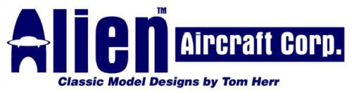 New Alien Aircraft Taylorcraft Taylor Craft 72 Balsa Wood RC Airplane Kit AAC502