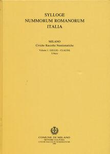 Hn A.a.v.v. Sylloge Nummorum Romanorum Italia Milano Vol. I Nero 1990