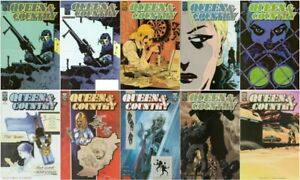 QUEEN-amp-COUNTRY-1-2-3-4-5-6-7-8-9-FCBD-Comics-Movie-Rucka-Sale-War-And-Spy-Oni
