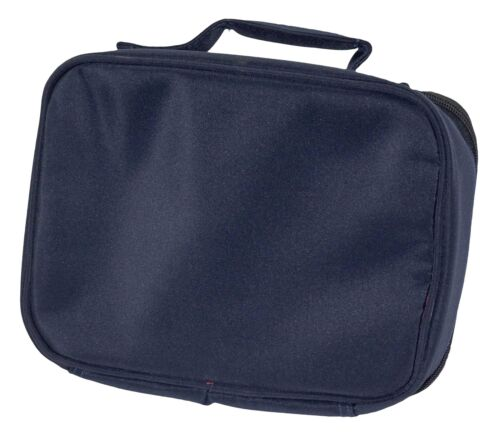 A Beautiful Wolf Navy Insulated School Lunch Box Bag AW-10LBN