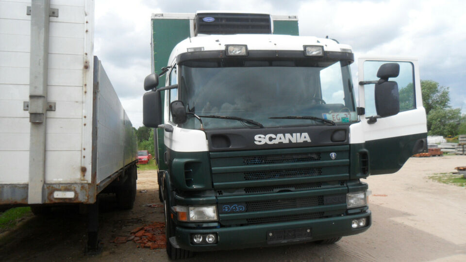 SCANIA 94 kølelastbil