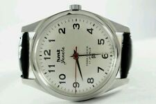 HMT JANATA BIG NUMBERS 17j. Hand winding vintage watch~ WHITE DIAL-