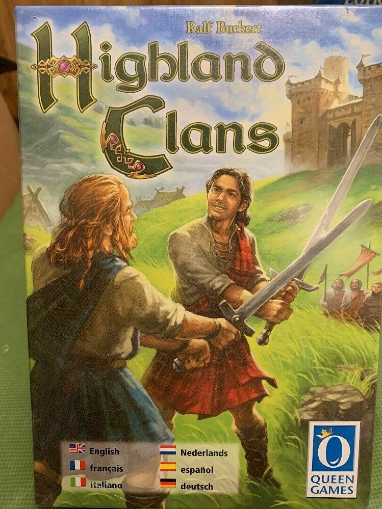 Highlands Clans Board Game - NEW SEALED