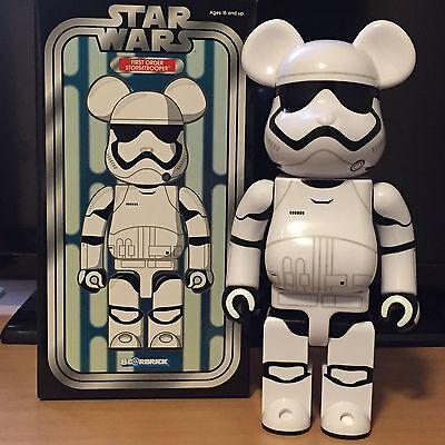 Medicom 400/% Bearbrick ~ StarWars Be@rbrick First Order Stormtrooper Executioner