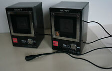 Sony APM-007AV kleine aktiv Boxen 12,5/25 Watt Amplifier Aktivlautsprecher
