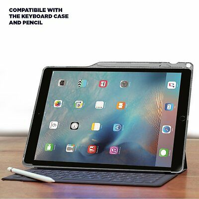 brand new c835d ad73f Details about For iPad Pro 12.9 Case Poetic [Lumos] TPU+Keyboard Compatible  Pencil Holder