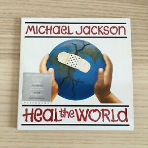 Michael-Jackson-Heal-The-World-CD-DVD-Dual-Disc-Limited-Edition-Numbered