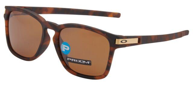 dfa029ab61 Oakley Sunglasses Latch SQ AF Prizm Polarized Tortoise Oo9358-0855 ...