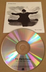 Ed-Sheeran-The-A-Team-UK-Promo-Cd-Ultra-Rare-2011-Divide