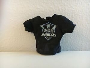 WWE-Mattel-Action-Figure-Accessory-The-Shield-Epic-Moments-Cloth-T-Shirt-loose