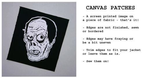 Sci Fi PATCH canvas screen print HORROR John Carpenter The Thing