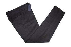Zanella-NWT-Flat-Front-Dress-Pants-Size-34-in-Charcoal-Clifton