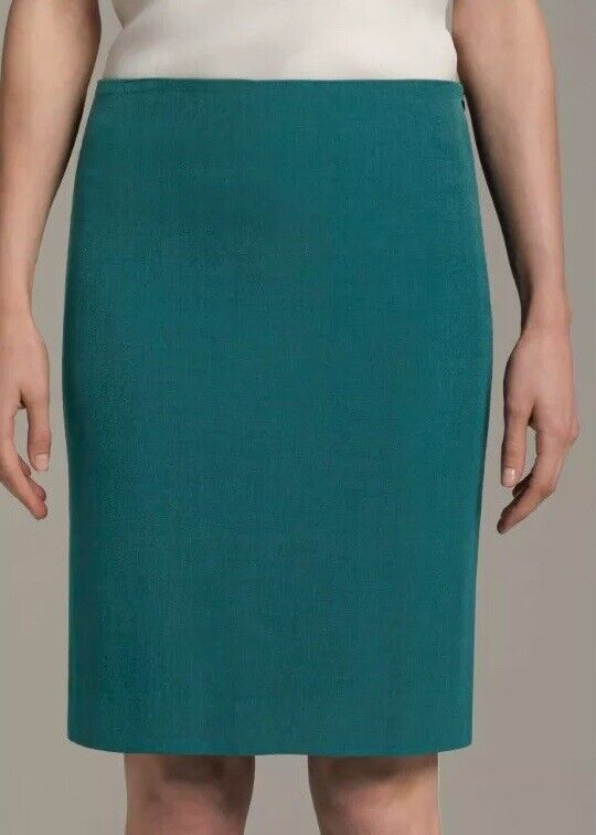 MM Lafleur The Noho Skirt Real bluee -  130 Size 4 Small Work Career Pencil