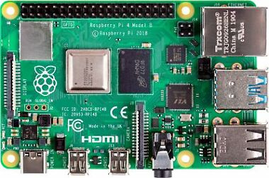 Raspberry Pi 4 2GB with CanaKit Power Supply