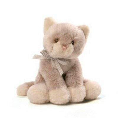 "BABY GUND  - CAT - OH SO SOFT  KITTY -  7"" RATTLE -  #4053987 - NWT"