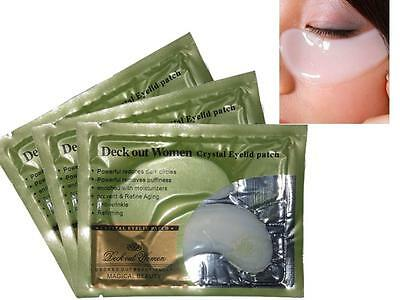 5/10/15/20 Crystal Eye Mask Eyelid Patch Moisture Anti Wrinkle Circles  DICA