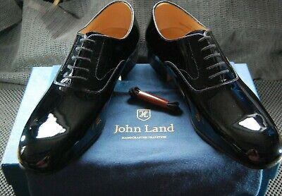 John Land Black Patent Leather dress