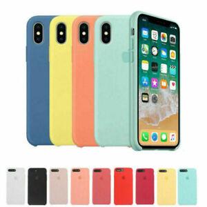 Genuine-OEM-Original-Silicone-Case-Cover-for-Apple-iPhone-X-XS-Max-XR-6-7-8-Plus