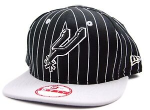 quality design 30b5e 81d29 Image is loading San-Antonio-Spurs-New-Era-9FIFTY-Striped-NBA-