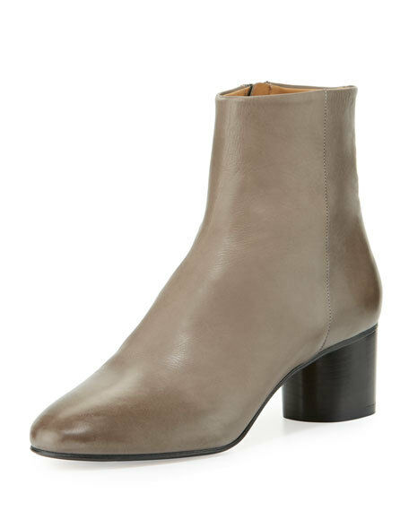 Authentic Isabel Marant Danay Danay Danay Leather Ankle bottes Taille 39  780 8d7789