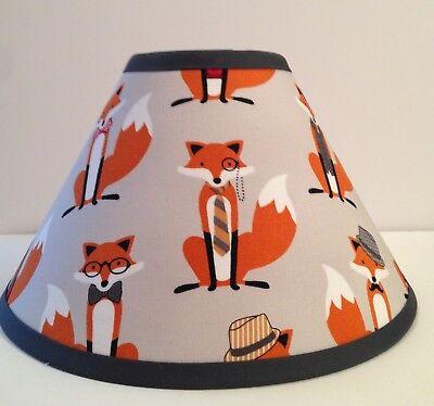 Fox Woodlands Fabric Children S Lamp Shade Ebay