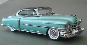 Brooklin Models 1952 Cadillac Coupe De Ville Two Tone
